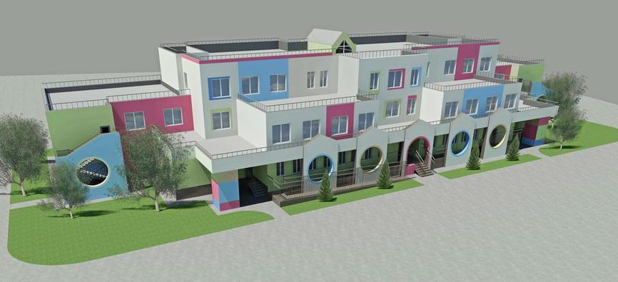 рабочий проект общественных зданий